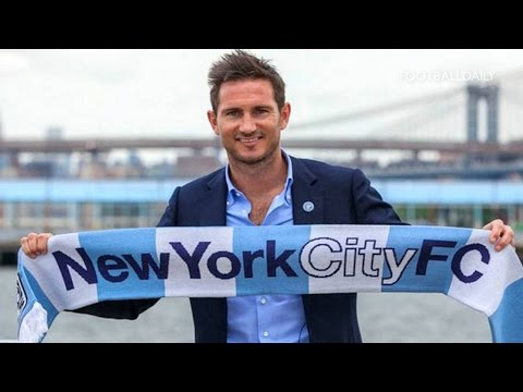 Video: New York City FC unveil new signing Frank Lampard