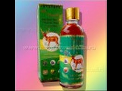 RASYAN Herbal Relief Muscle Pain Luniment / Обезболивающее травяное масло. Тайские штучки.
