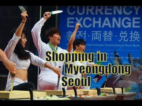VIDEO:  Nanta Performance in Myeongdong, Seoul
