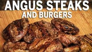 Angus Steaks and Burgers by the BBQ Pit Boys by BBQ Pit Boys