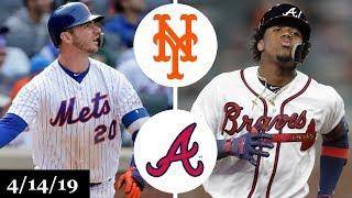 New York Mets vs Atlanta Braves Highlights | April 14, 2019