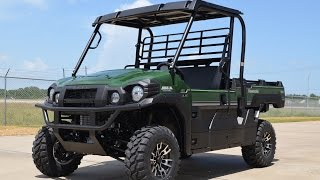 9. SALE $11,999:  2016 Kawasaki Mule Pro FX EPS LE Green Overview and Review