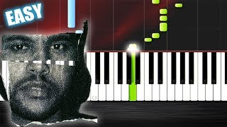 The Weeknd - Can't Feel My Face - EASY Piano Tutorial  Ноты и М�Д� (MIDI) можем выслать Вам (Sheet m