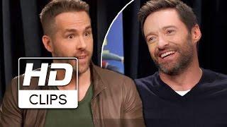 Video Volando Alto   Ryan Reynolds entrevista a Hugh Jackman MP3, 3GP, MP4, WEBM, AVI, FLV Mei 2018