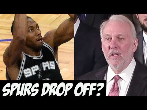 Why The San Antonio Spurs Could Drop off (or Be Totally Fine) in 2018