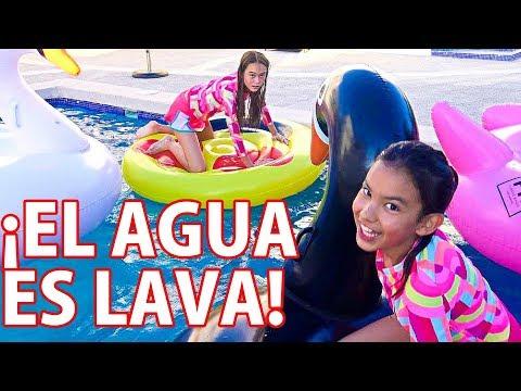 El AGUA ES LAVA!  TV ANA EMILIA