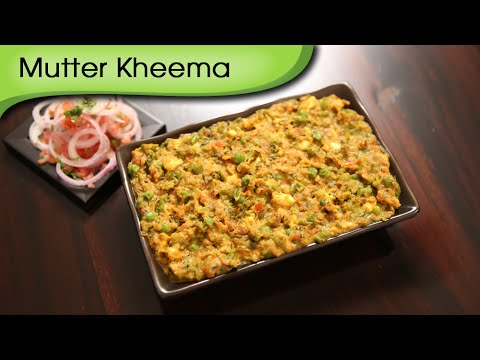 Kheema Matar | Quick Vegetarian Main Course Recipe | Ruchi's Kitchen