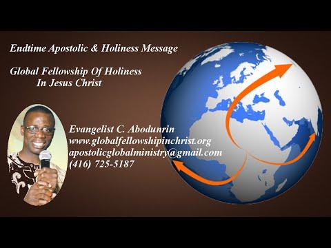 Apostolic & Holiness Preaching – The Judgement of God