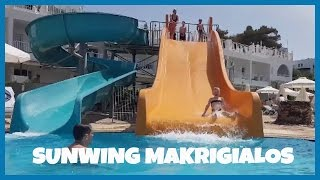 Makrigialos Greece  city photos : Sunwing Resort, Sunwing Makrigialos Beach, Crete, Greece - Outdoor Fun in the Pool with SwimFin!