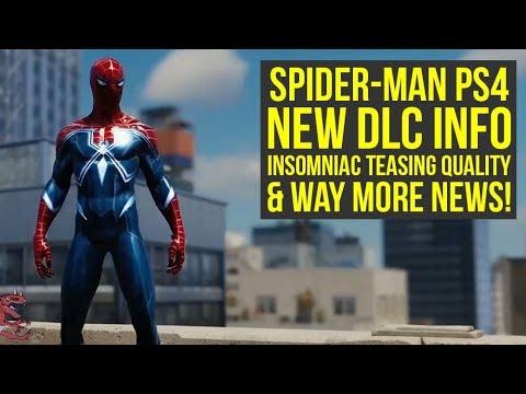 Spider Man PS4 DLC NEW INFO, Insomniac Teasing the Quality & Way More News! (Spiderman PS4 DLC) (видео)