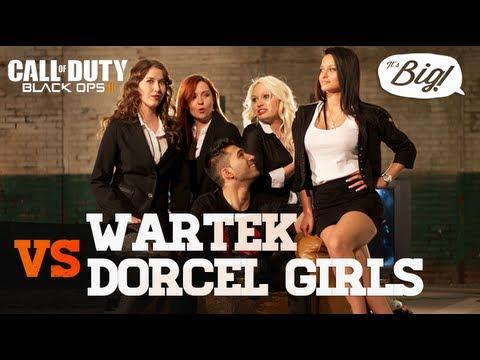 WaRTeK VS Dorcel Girls - 1vs1 sur Black Ops 2