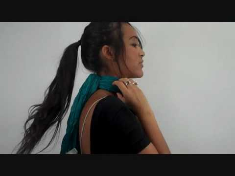 How to Tie Scarf: Chain Knot