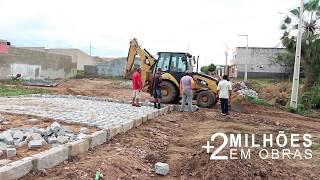 Prefeita de Coremas investe mais de R$ 2 milhões em obras; Ruas antes esquecidas são pavimentadas