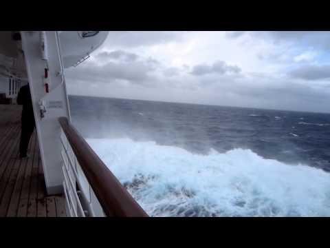 Sturm auf der Costa Serena