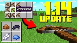 NEW CROSSBOWS! New Items, Panda Update (Minecraft 1.14 Snapshot)