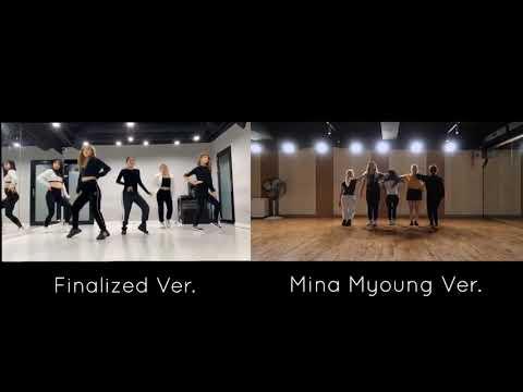 FINALIZED CHOREOGRAPHY VS. MINA MYOUNG CHOREOGRAPHY - Red Velvet   Psycho