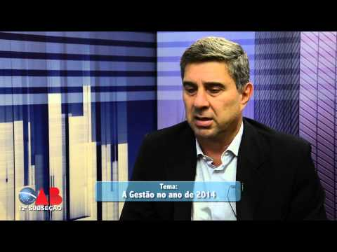 OAB na TV On Line – nº 51 – ENTREVISTADO – Dr. Domingos Assad Stocco
