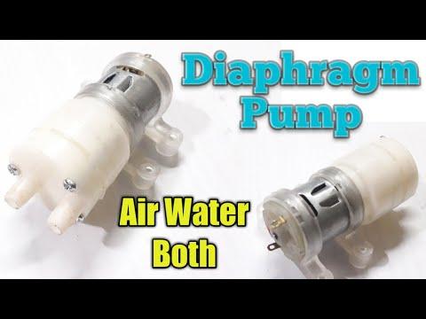 Diaphragm Pump, Air and Water Both, Full unbox