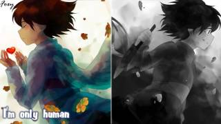 Download Lagu 「Nightcore」→ Human/Jar Of Hearts (Switching Vocals) MASHUP || Undertale Mp3
