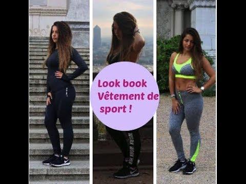 LOOK BOOK spécial vêtement de sport !