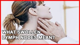 Suscribe to our channel for more info. Do not self-diagnose! Visit your doctor if you experience symptoms like these.Source:http://www.ehealthstar.com/swollen-lymph-nodes.php
