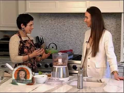 Elizabeth's Kind Cafe with Raw Food Chef Corinne Rice