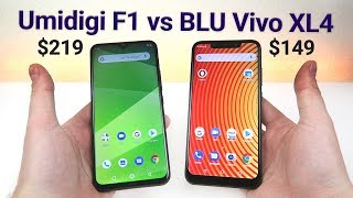 Umidigi F1 vs BLU Vivo XL4 - Which is Better?