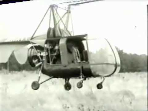 Kaman HTK-1K - the first unmanned helicopter (1953)