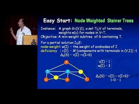 Zeev Nutov: Gestaltung der Steiner-Netzwerke