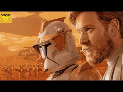Everything Wrong with the BATTLE OF GEONOSIS (видео)