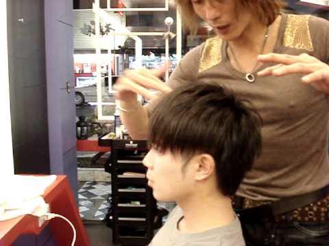 改變髮型 安公子 示範 如何製造髮束之髮蠟用法