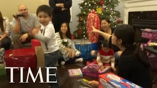 Here Is an Adorable Compilation of Kids Reacting to Opening Christmas Presents