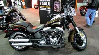 2. 2013 Harley-Davidson FLSTFB Softail Fat Boy Lo - 110th Anniversary Edition - Quebec Moto Show