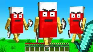 TROLLING My Friends in Minecraft BEDWARS