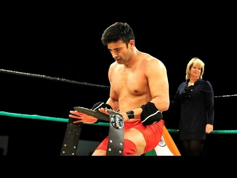 Sangram Singh wins WWP Commonwealth Championship defeating Canadian Joe legend