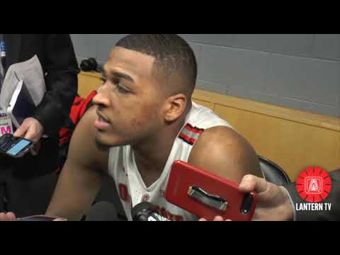 Ohio State C Kaleb Wesson Talks Return From Suspension After Big Ten Tournament Second Round Win