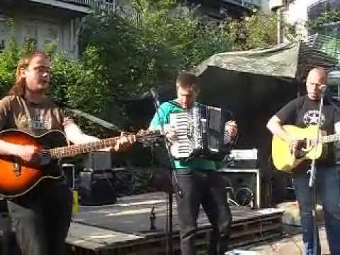 James Bar Bowen & Friends-Live @ Binnenpret-Anarcho Folk Fest-06.07.2013-Amsterdam NL-Pt 2.