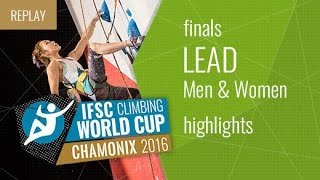 IFSC Climbing World Cup Chamonix Highlight Speed & Lead Finals by International Federation of Sport Climbing