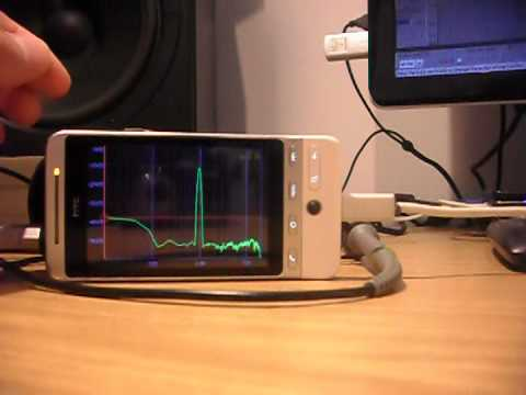 Video of SpecScope Spectrum Analyzer