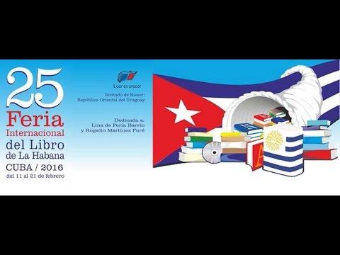 Presentación de »Confieso que he luchado« en la Feria Internacional del Libro de La Habana