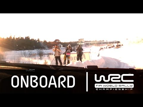 Rally Sweden 2015: Onboard SS17 Robert Kubica