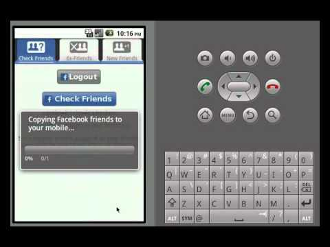 Video of Friends Checker for Facebook