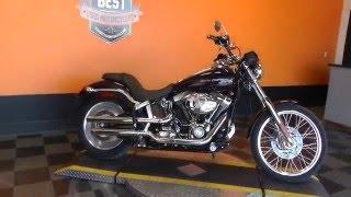 8. 083779 - 2007 Harley Davidson Softail Deuce FXSTD - Used Motorcycle For Sale