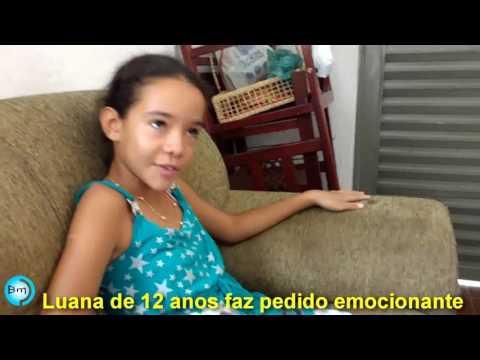 Vídeo - Menina de 12 anos comove Jales, ela pede em carta ajuda para irmã que vai nascer, para que mãe não doe a criança.