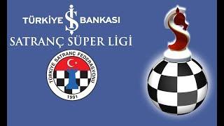 2017 Turkiye Is Bankasi Satranc Super Ligi Tur 7 Canlı Yayın