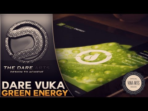Green Energy | Website Speedart | By Dare Vuka
