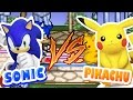 Sonic Vs Pikachu Super Smash Flash 2 Jogos Online