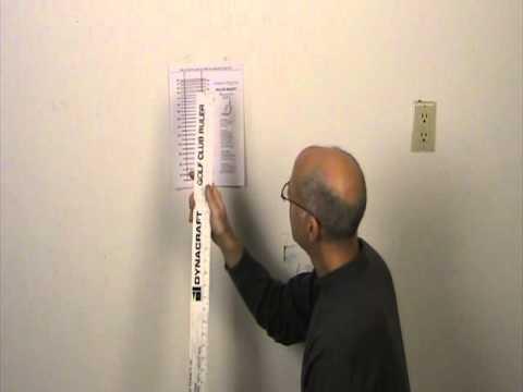 how to measure club length