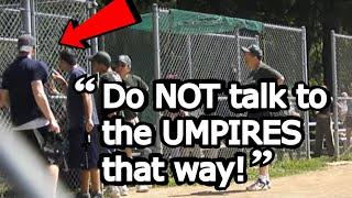 Little League Baseball Mom Freaks Out After Son Is Denied Home Run! READ DESCRIPTION!