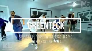 Greenteck – Special Poppin Class Day 2 @ KrossLine MTL